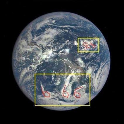 fake earth 666