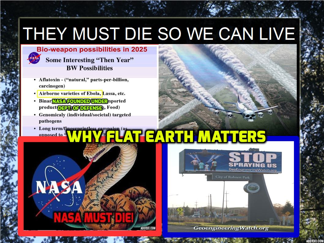 NASA STEALS OUR MONEY AND LIES; NOW IT MUST DIE ...