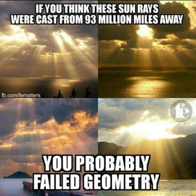 fe sunlight rays