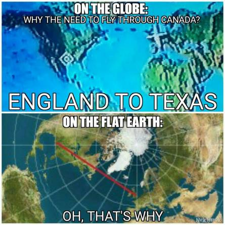 Image result for flat earth meme