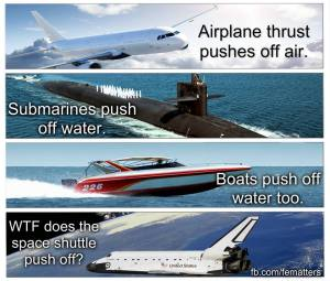 Image result for vacuum flat earth meme