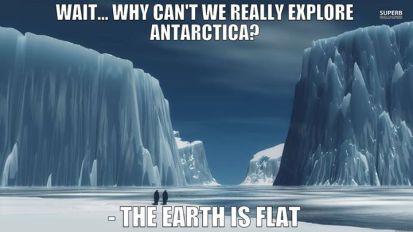 antarctic ice wall