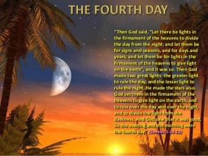 fe bible creation 4th day