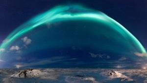 fe dome aurora borealus