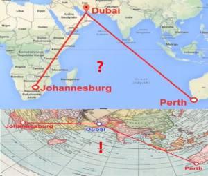 fe flight map