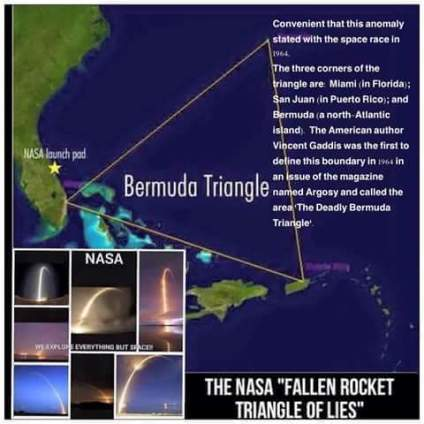 fe bermuda triangle rockets nasa