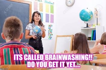 fe brainwash education school