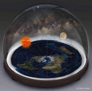 fe model dome earth