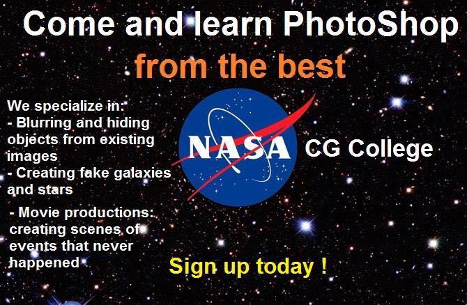 Risultati immagini per photoshop nasa