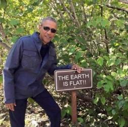 fe obama flat earth