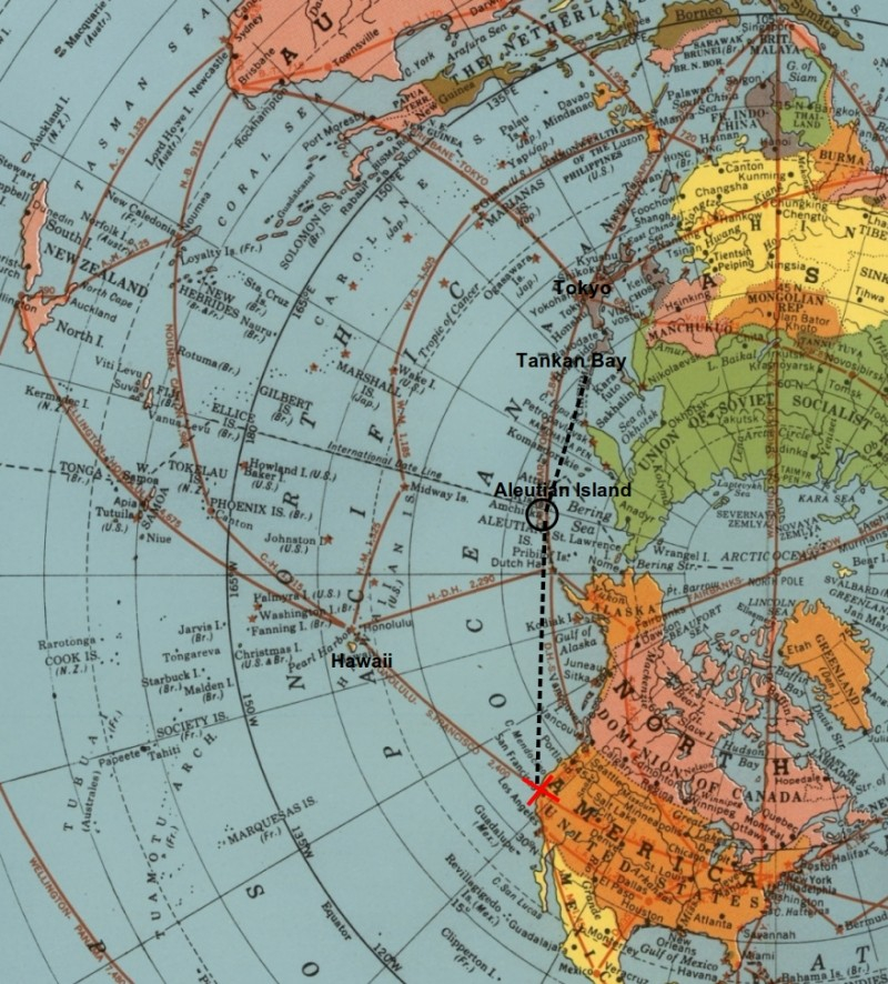 "Azimuthal Equidistant ""Air Map"" of 1945 proves Flat Earth ..."