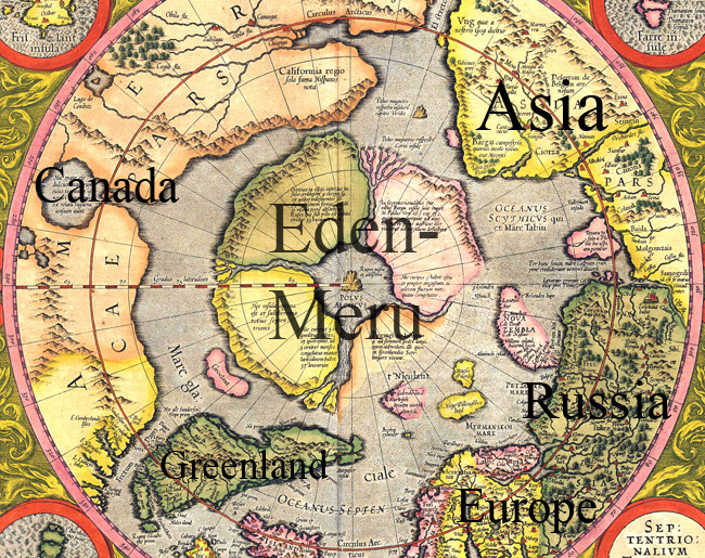 Ancient Hebrew Flat Earth Map.Ancient Cosmology Aplanetruth Info